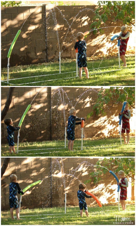 Summer activities for kids: DIY water blasters