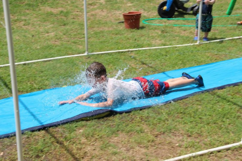 Summer activities for kids: Slip n slide