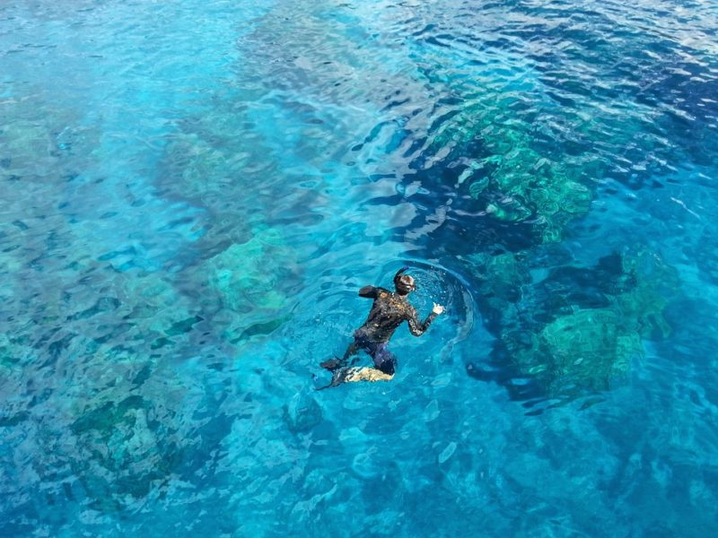 Ways to stay cool: Snorkeling