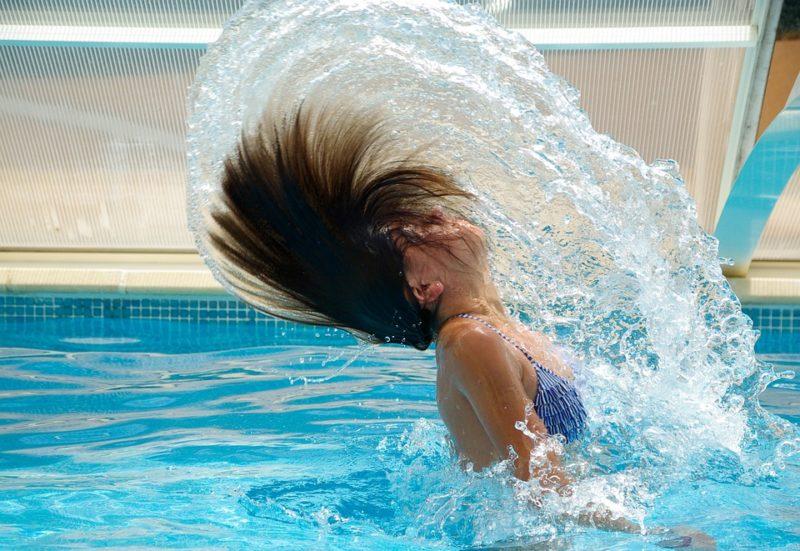 Ways to stay cool: Swimming Pool