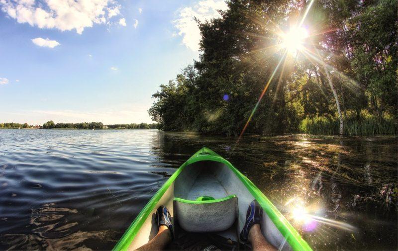 Ways to stay cool: Kayaking