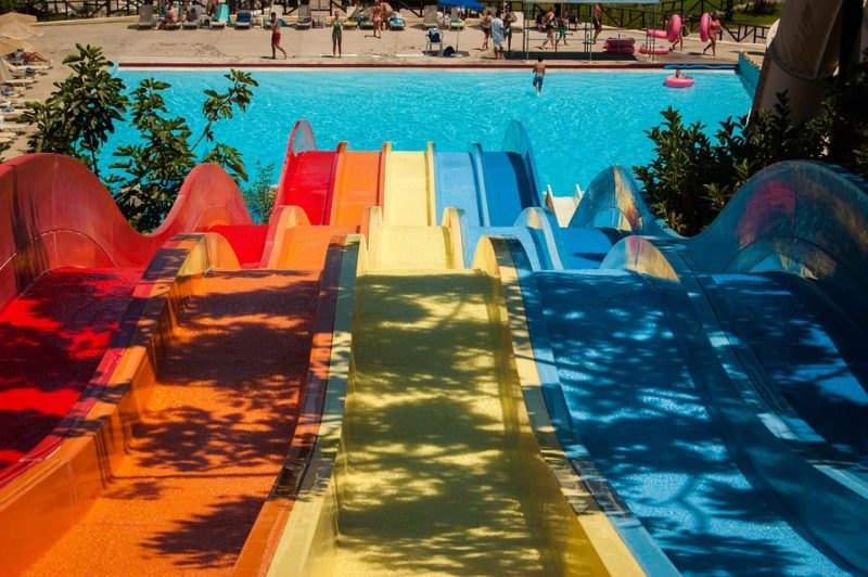 Ways to stay cool: Water park