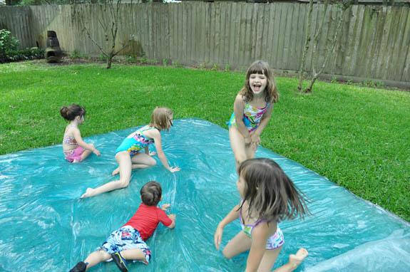 Summer activities for kids: Water blob