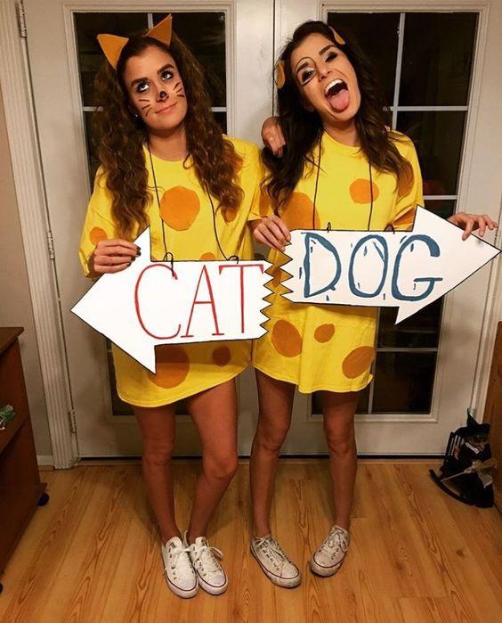 CatDog adult halloween costumes