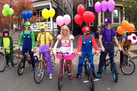 Mario Kart adult halloween costume