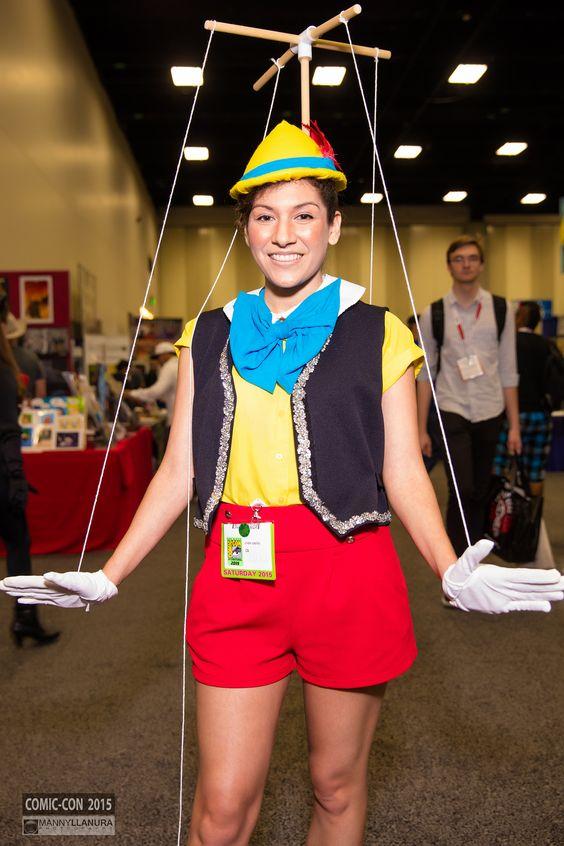 Pinocchio adult halloween costume