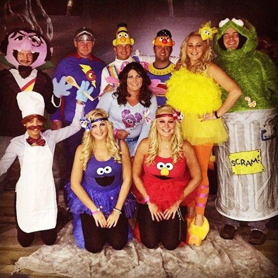 Sesame Street adult halloween costumes