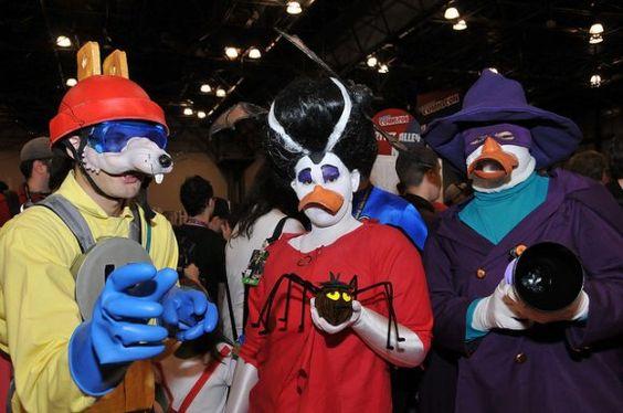 Darkwing Duck adult halloween costumes