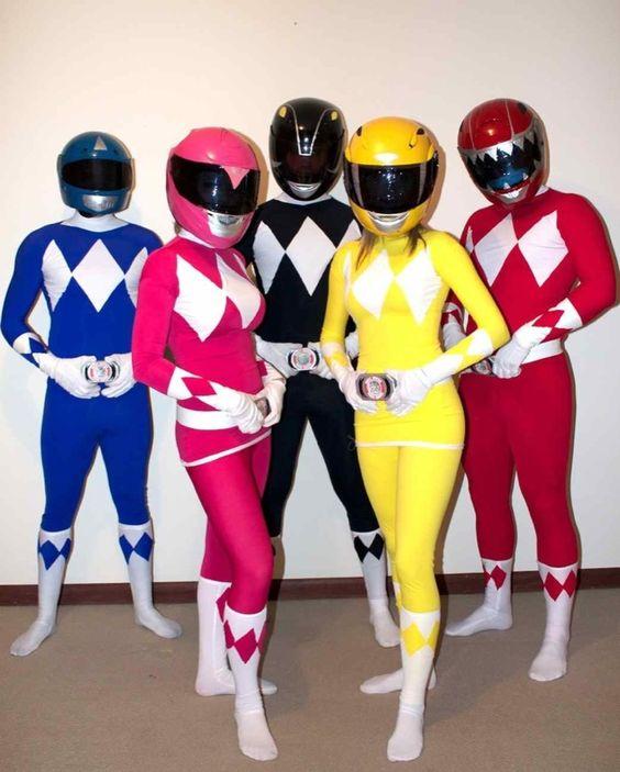 Power Rangers adult halloween costumes