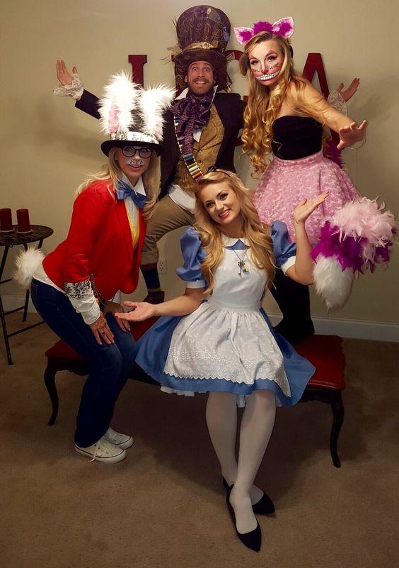 Alice in Wonderland adult halloween costumes