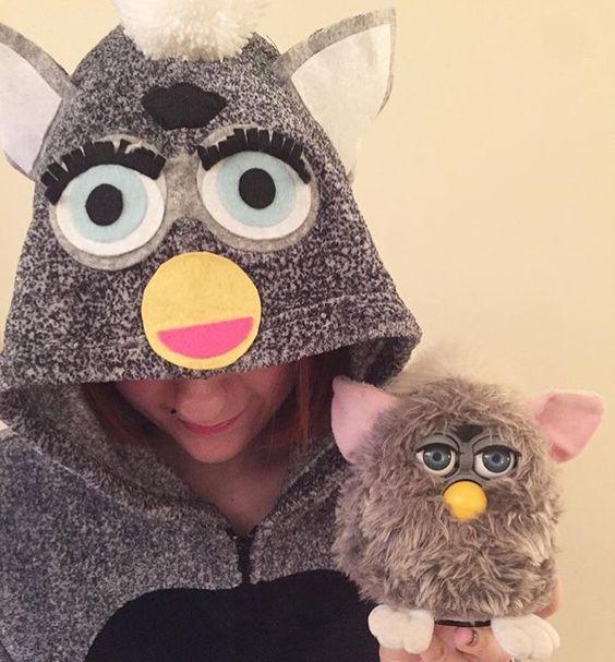 Furbie adult halloween costumes