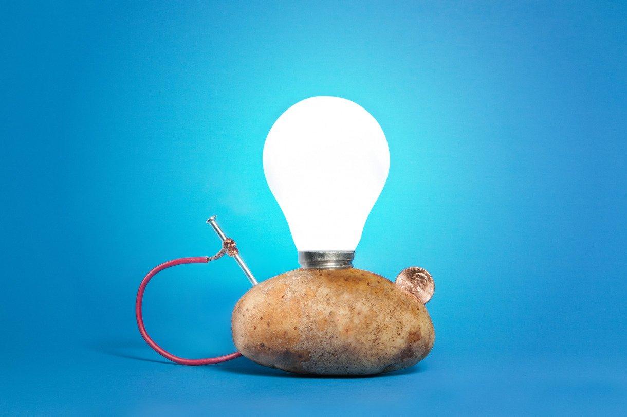 Potato Light Bulb